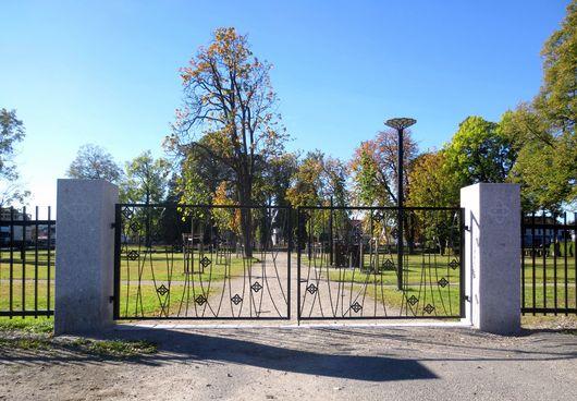 Lie kirkegård, de nye urnegravfeltene og navnet minnelund tas i bruk